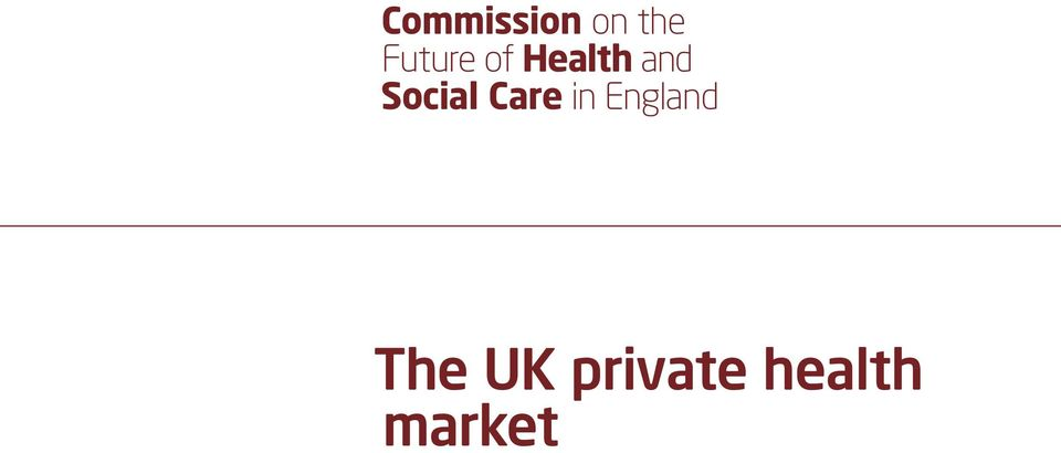 Social Care in England