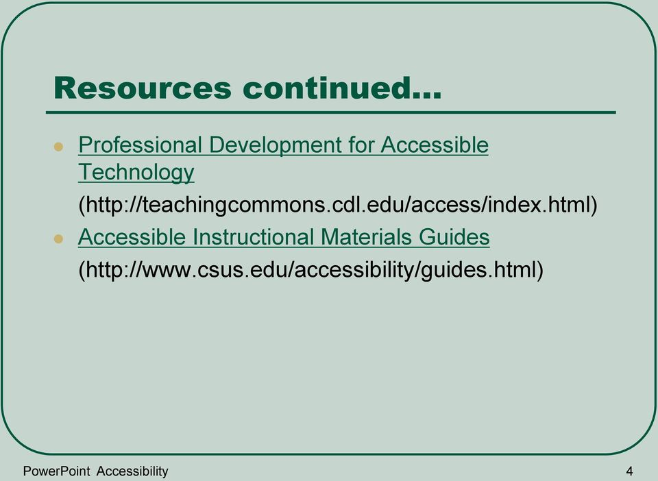 html) Accessible Instructional Materials Guides (http://www.