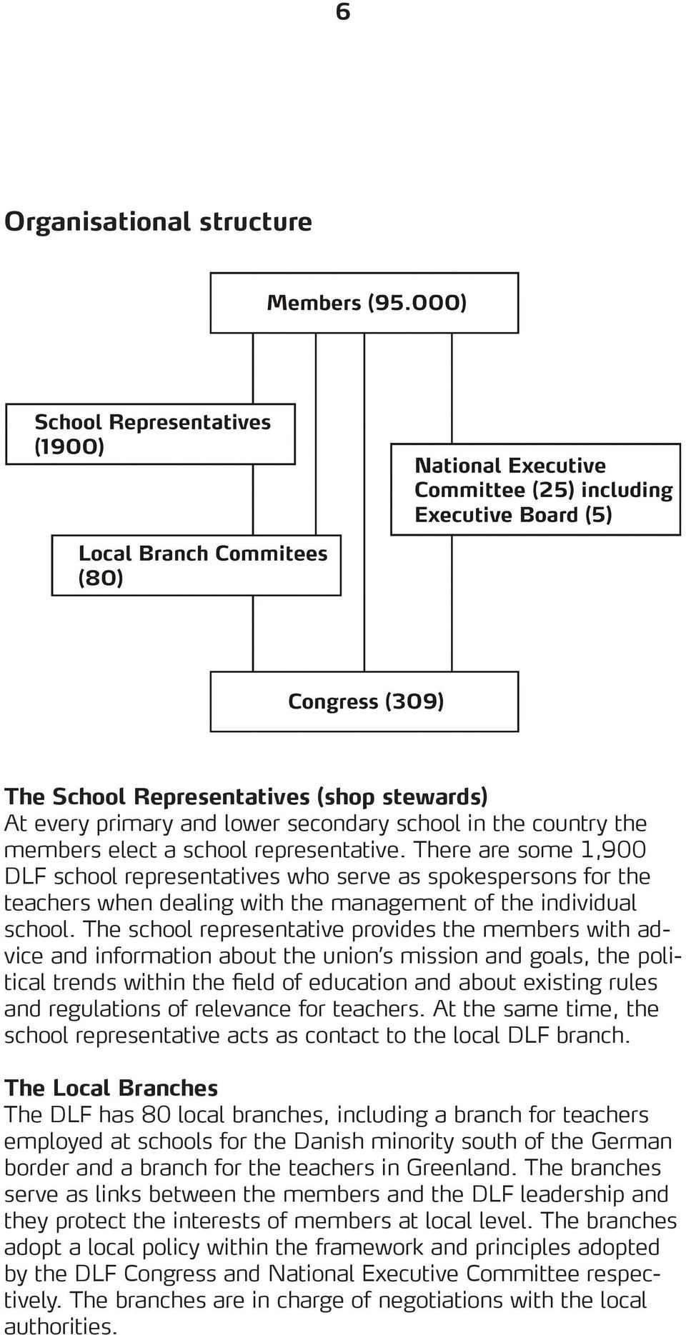 The school representative provides the members with advice and information about the union s mission and goals, the political trends within the field of education and about existing rules and