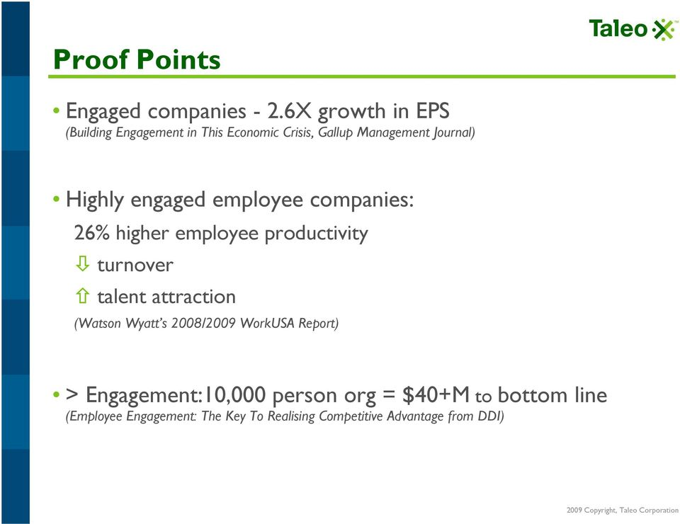 engaged employee companies: 26% higher employee productivity!
