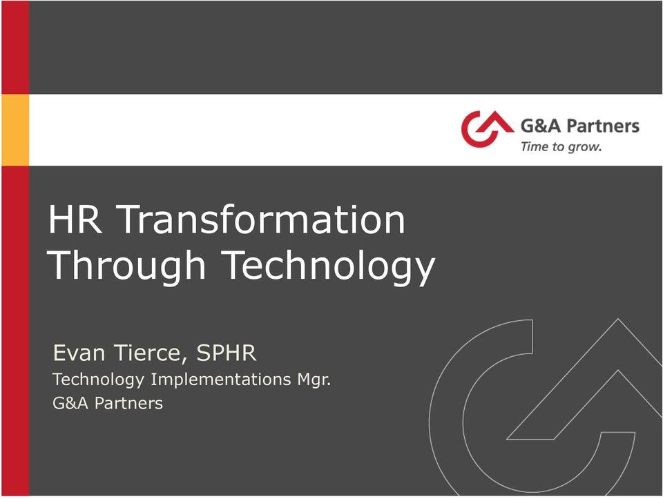 Tierce, SPHR Technology