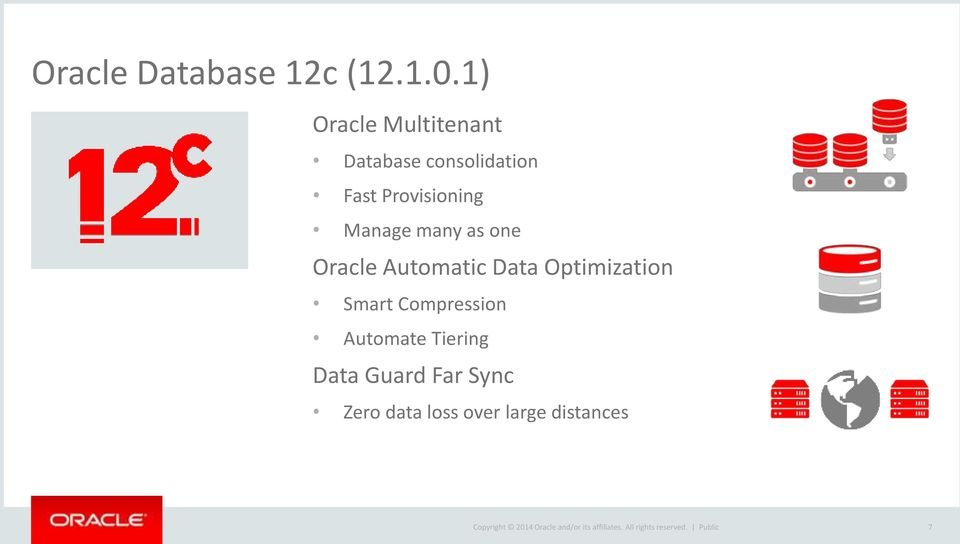 Provisioning Manage many as one Oracle Automatic Data