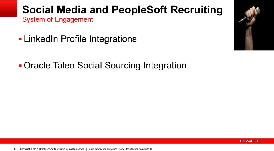 LinkedIn Profile Integrations