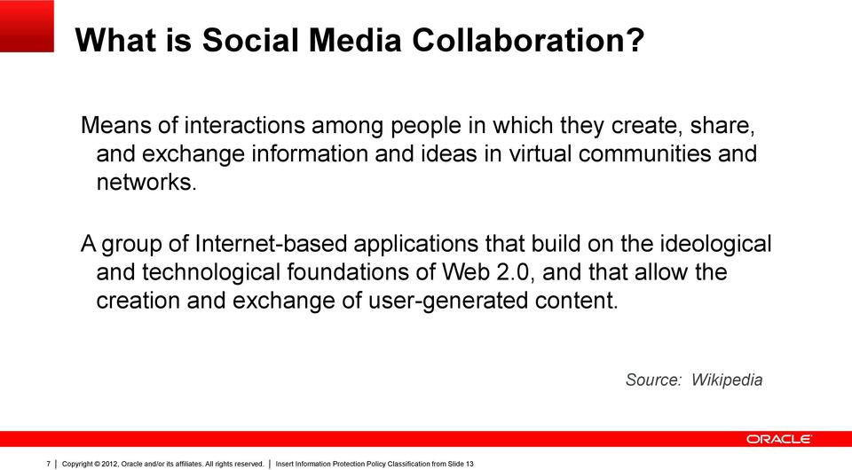 ideas in virtual communities and networks.
