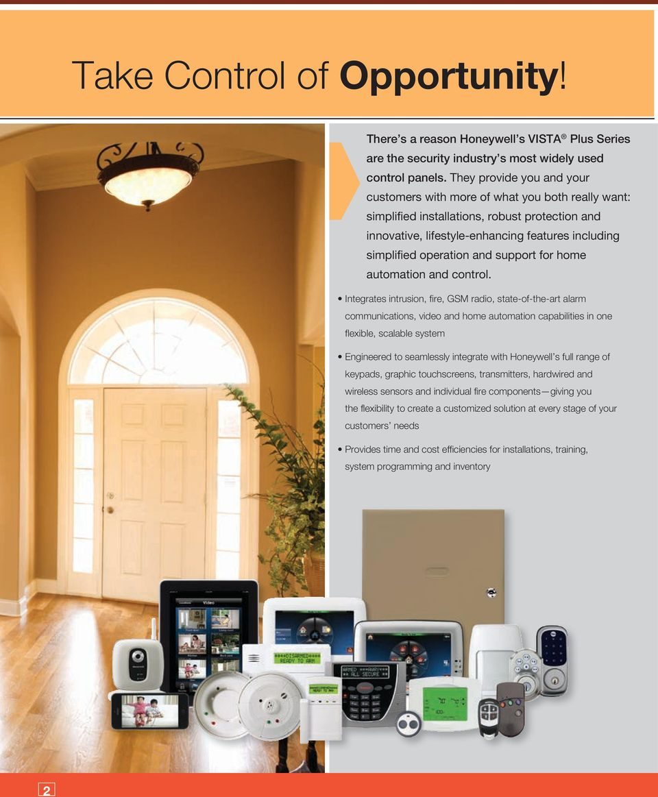 support for home automation and control.