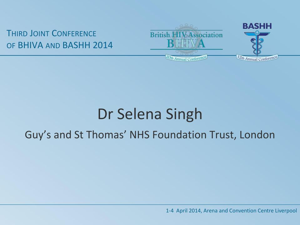 NHS Foundation Trust, London 1-4 April