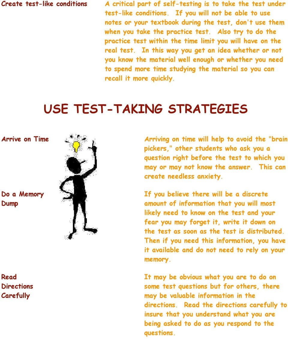 Also try to do the practice test within the time limit you will have on the real test.