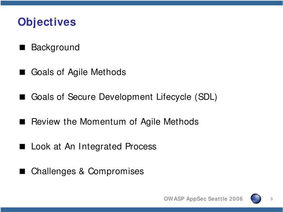 Momentum of Agile Methods Look at An Integrated