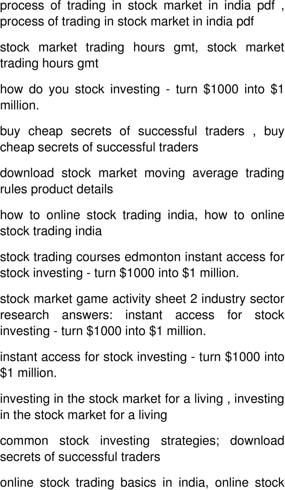 buy cheap secrets of successful traders, buy cheap secrets of successful traders download stock market moving average trading rules product details how to online stock trading india, how to online