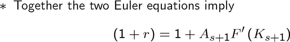 equations imply