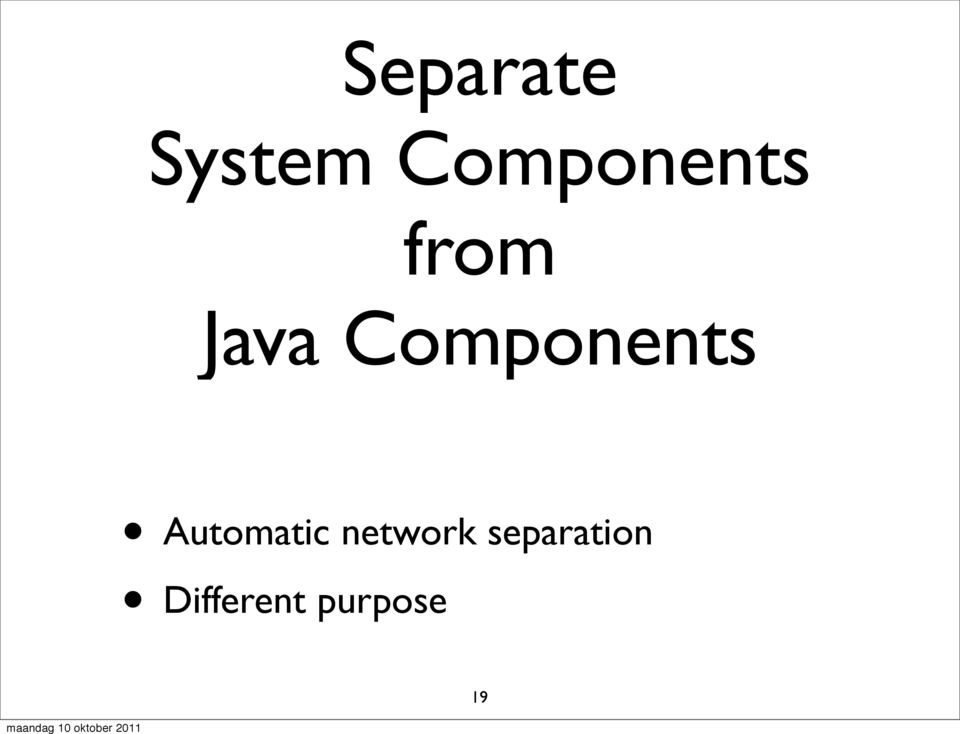 Components Automatic