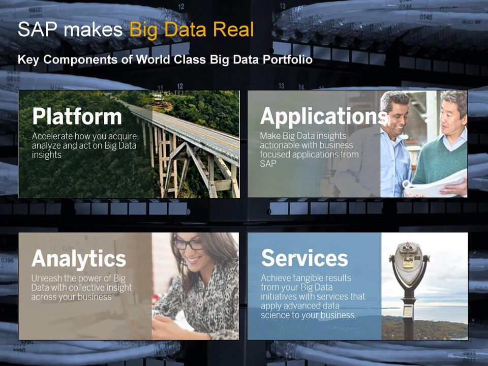 Data Portfolio 2013 SAP AG.