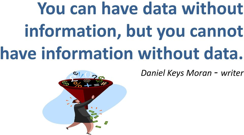 have information without