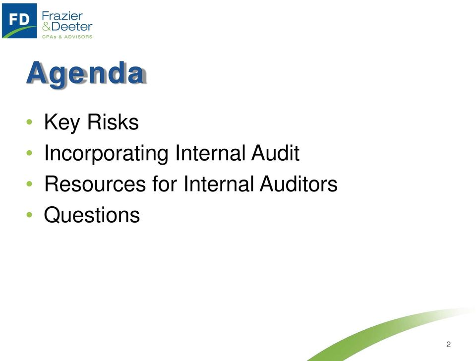 Audit Resources for