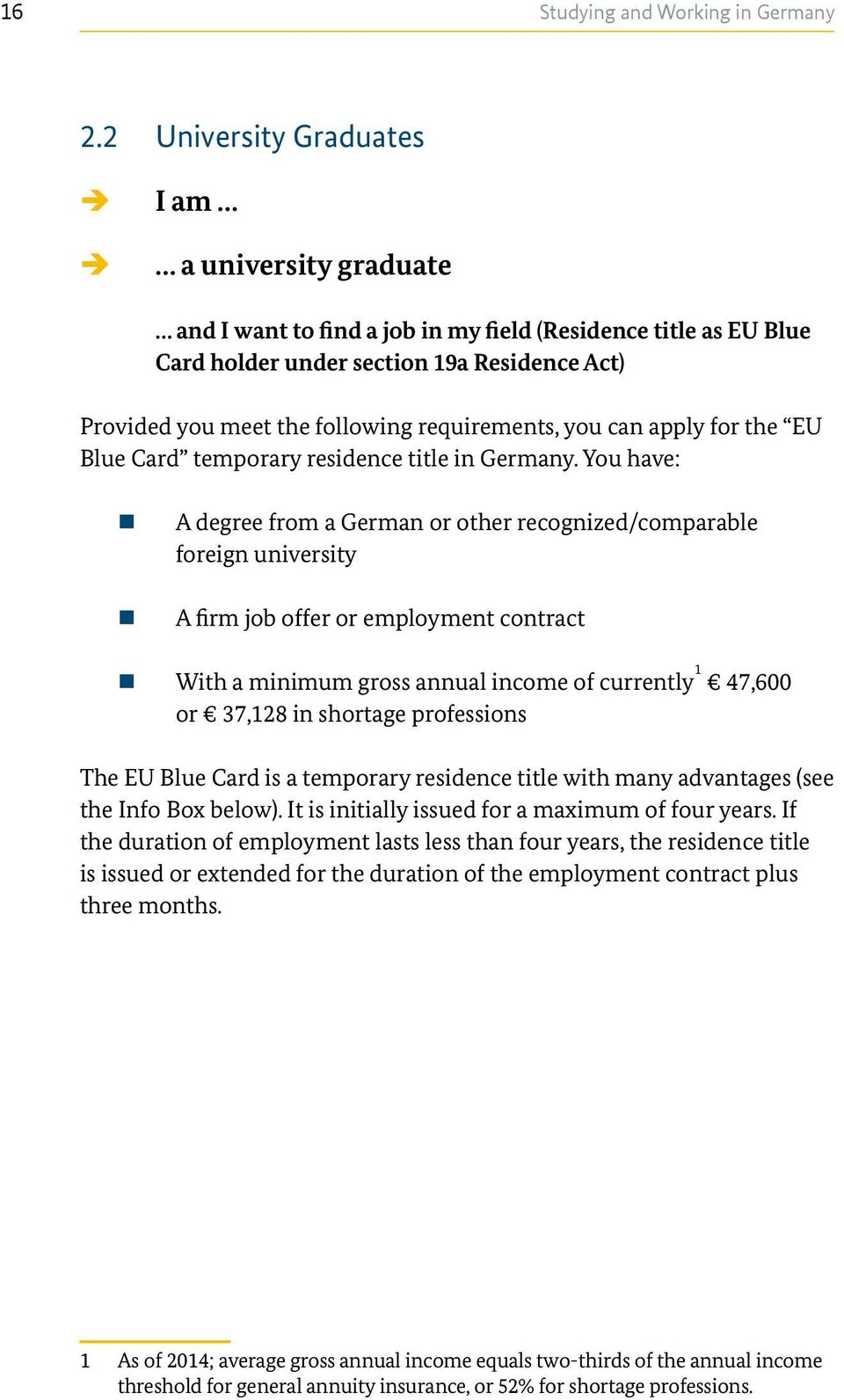 requirements, you can apply for the EU Blue Card temporary residence title in Germany.