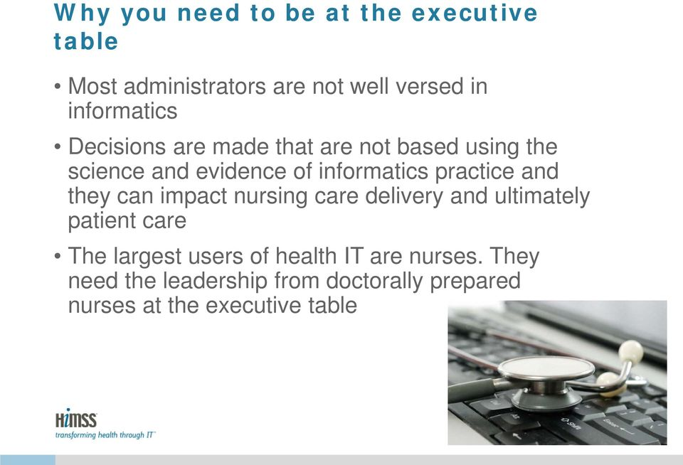 practice and they can impact nursing care delivery and ultimately patient care The largest