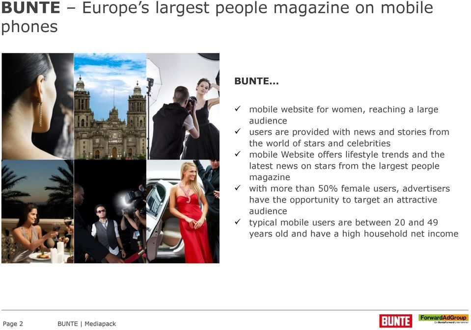 latest news on stars from the largest people magazine with more than 50% female users, advertisers have the opportunity to
