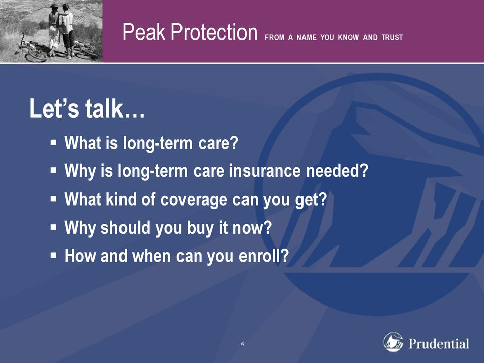 Why is long-term care insurance needed?