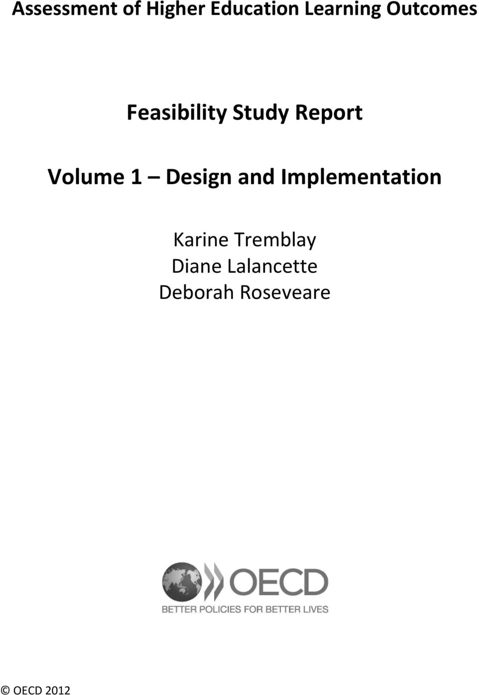 Volume 1 Design and Implementation