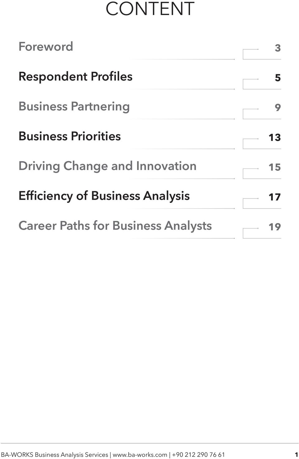 Analysis Career Paths for Business Analysts 3 5 9 13 15 17 19