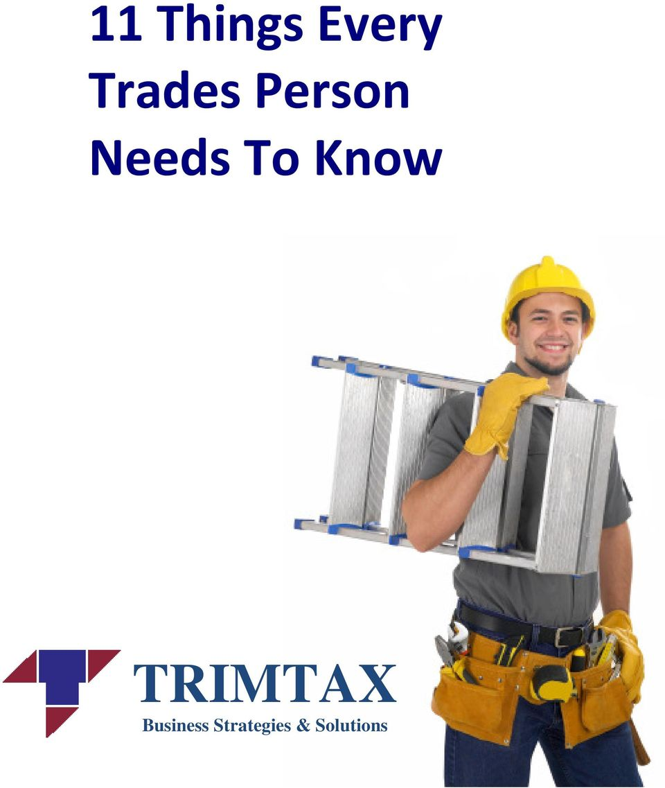 To Know TRIMTAX