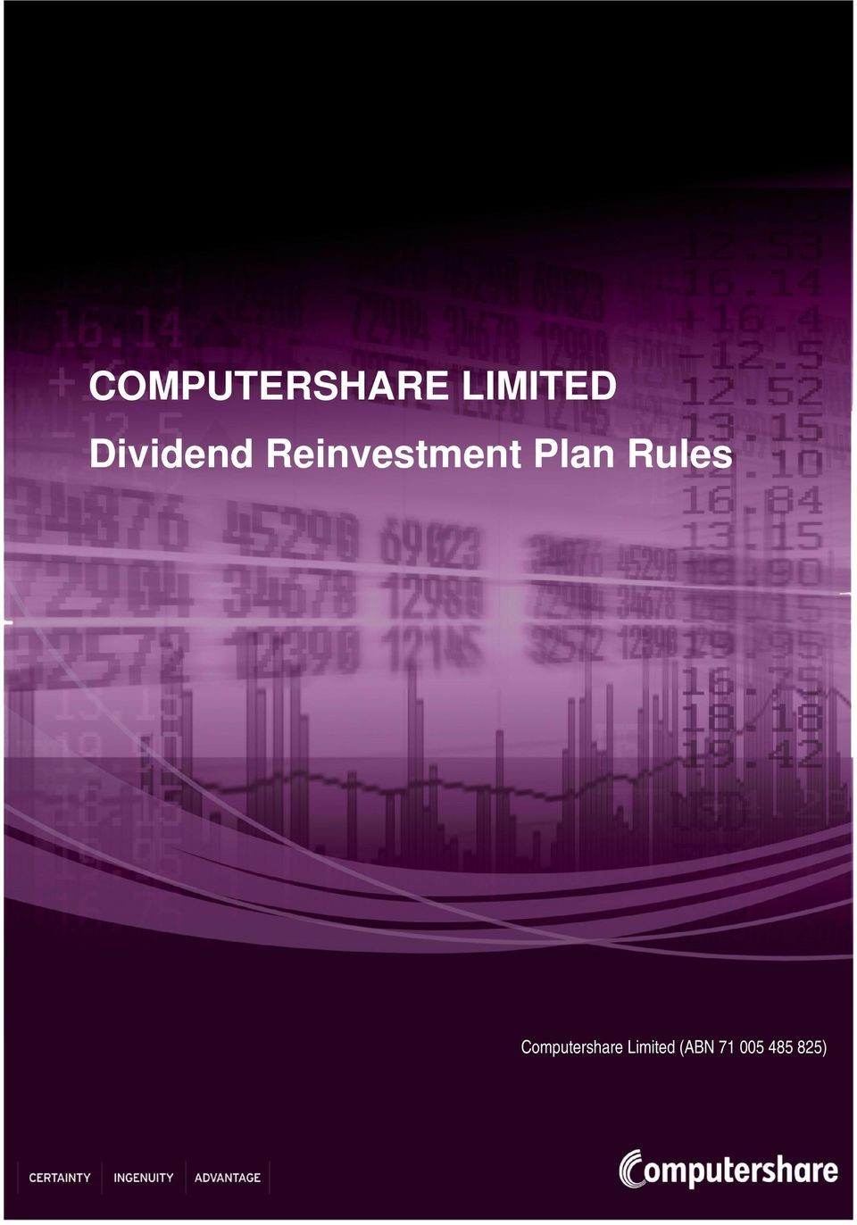 Plan Rules Computershare