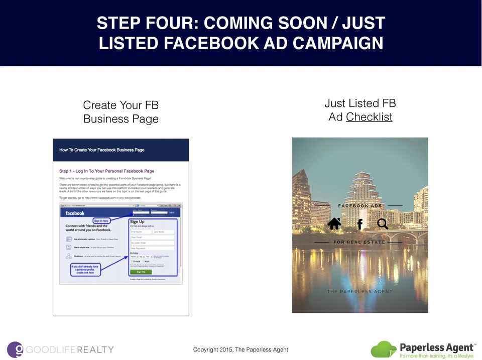 CAMPAIGN Just Listed FB Ad