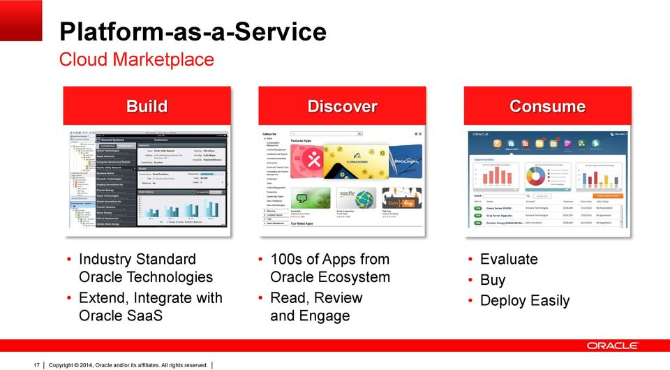 Integrate with Oracle SaaS 100s of Apps from Oracle