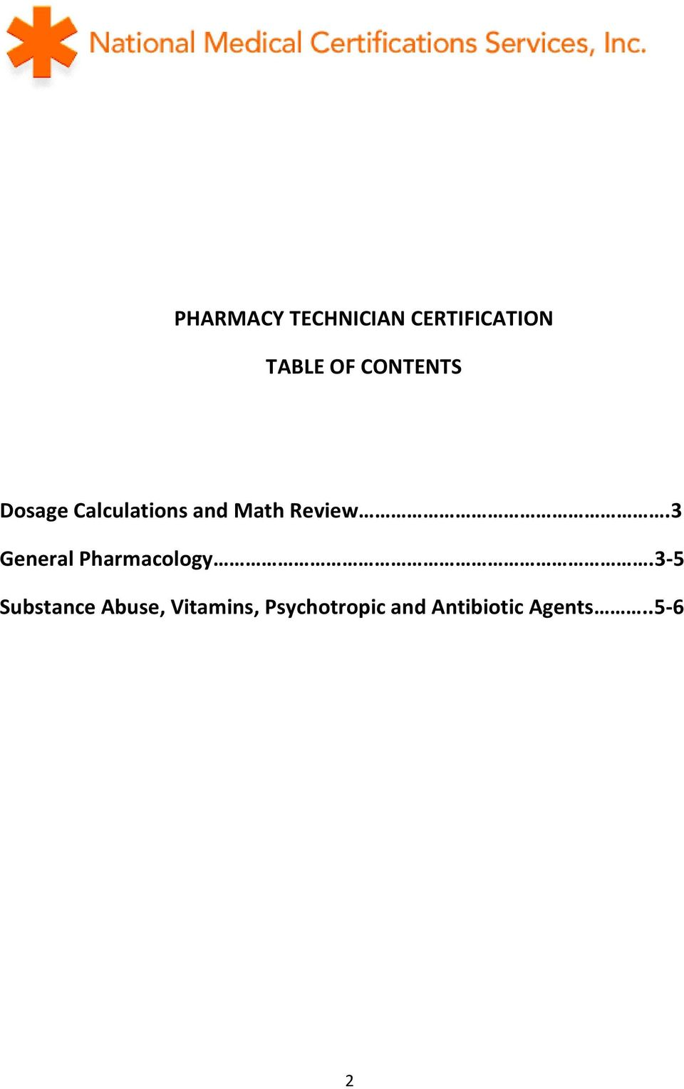 3 General Pharmacology.