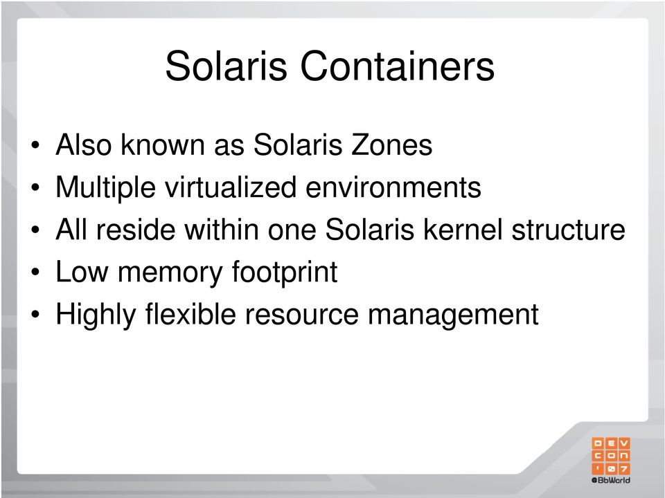 reside within one Solaris kernel structure