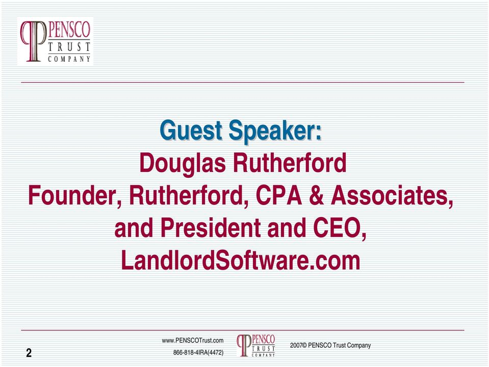 Rutherford, CPA & Associates,