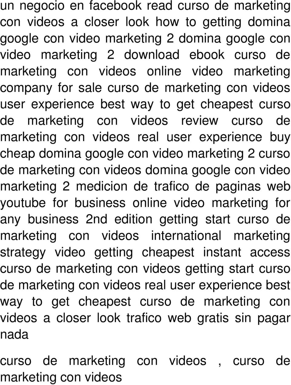 experience buy cheap domina google con video marketing 2 curso de marketing con videos domina google con video marketing 2 medicion de trafico de paginas web youtube for business online video