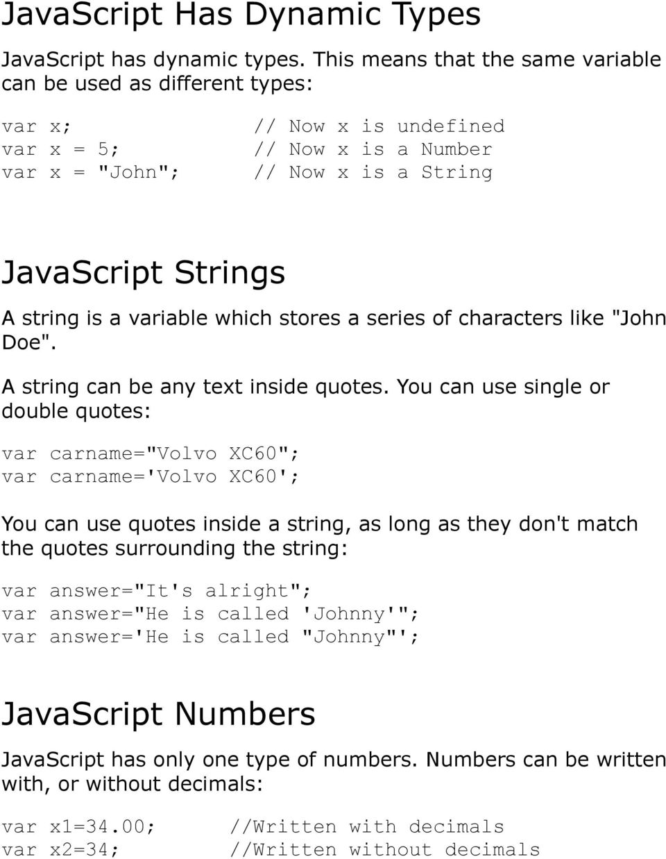 JavaScripts in HTML must be inserted between <script> and