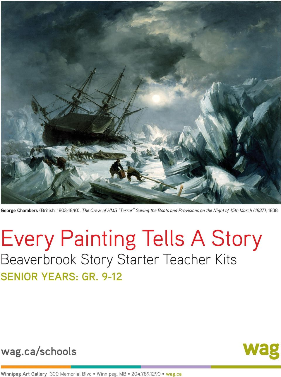 March (1837), 1838 Every Painting Tells A Story Beaverbrook Story Starter