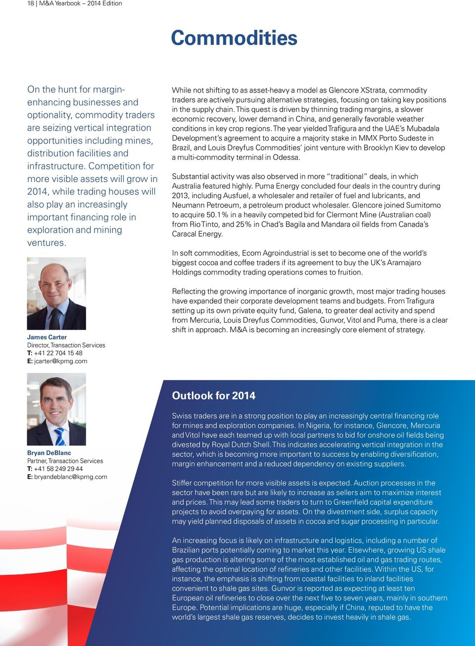 M&A Yearbook Edition  KPMG s overview of mergers and acquisitions in