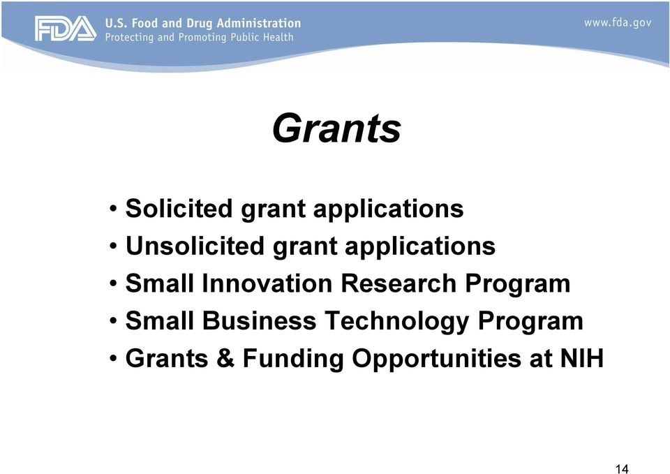 Innovation Research Program Small Business