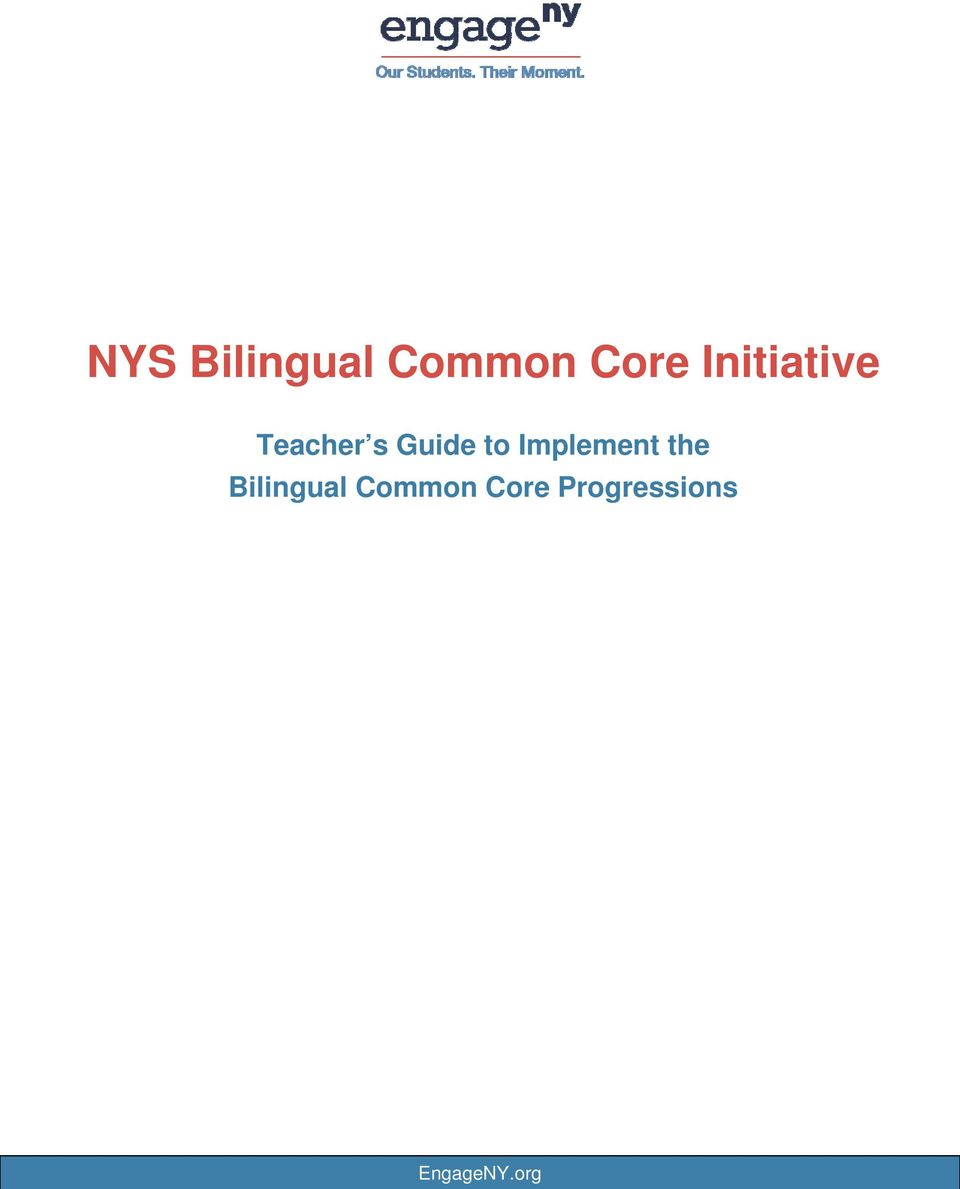 Implement the Bilingual