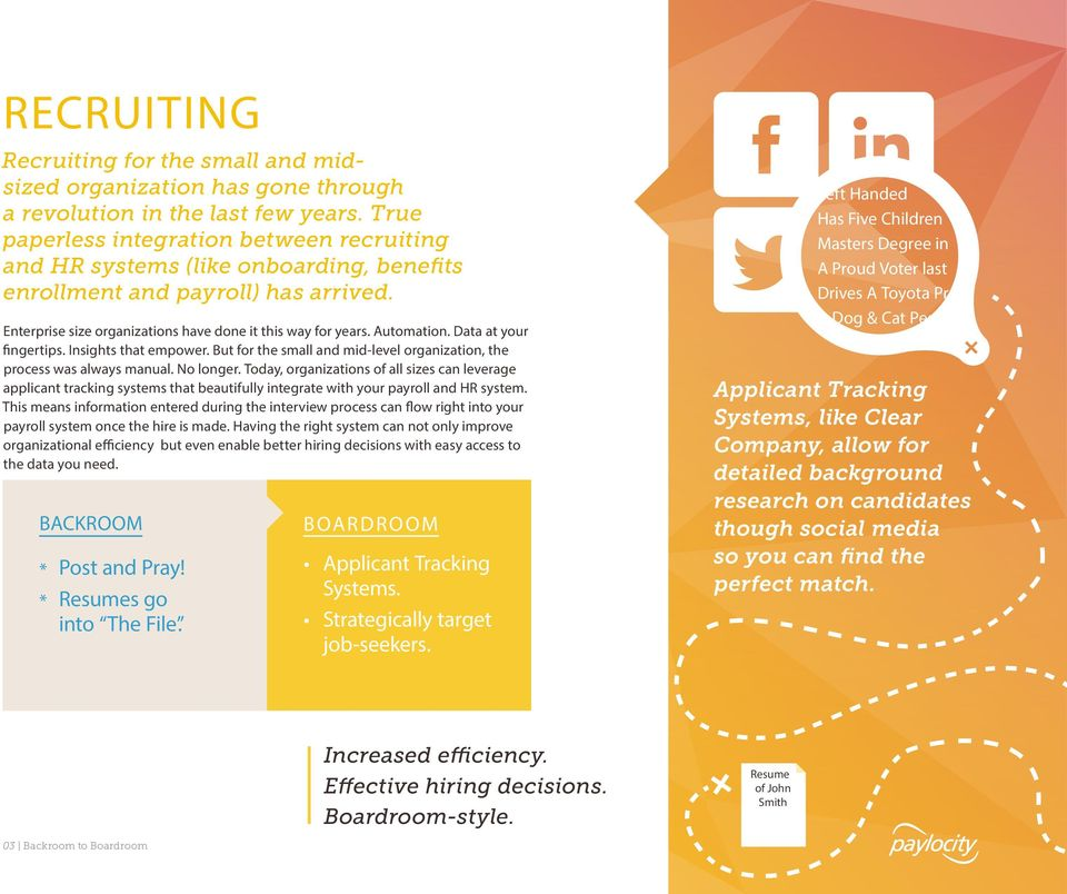 The HR REVOLUTION BOARDROOM FROM BACKROOM TO THE - PDF