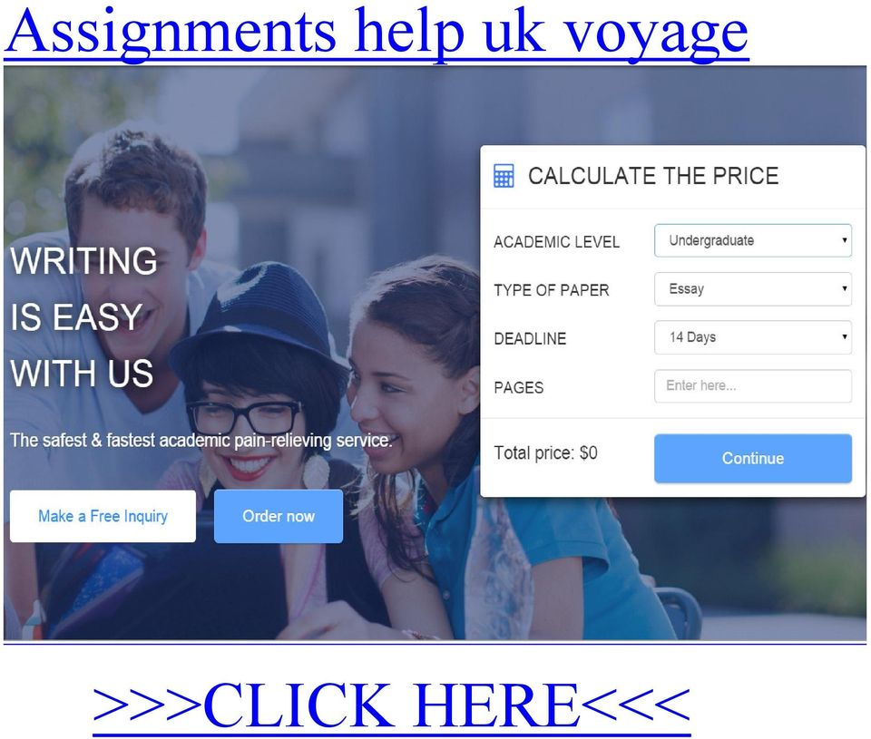 Assignments help uk voyage >>>CLICK HERE<<< By and assignments help uk voyage talking, there is a huge number of routes in which