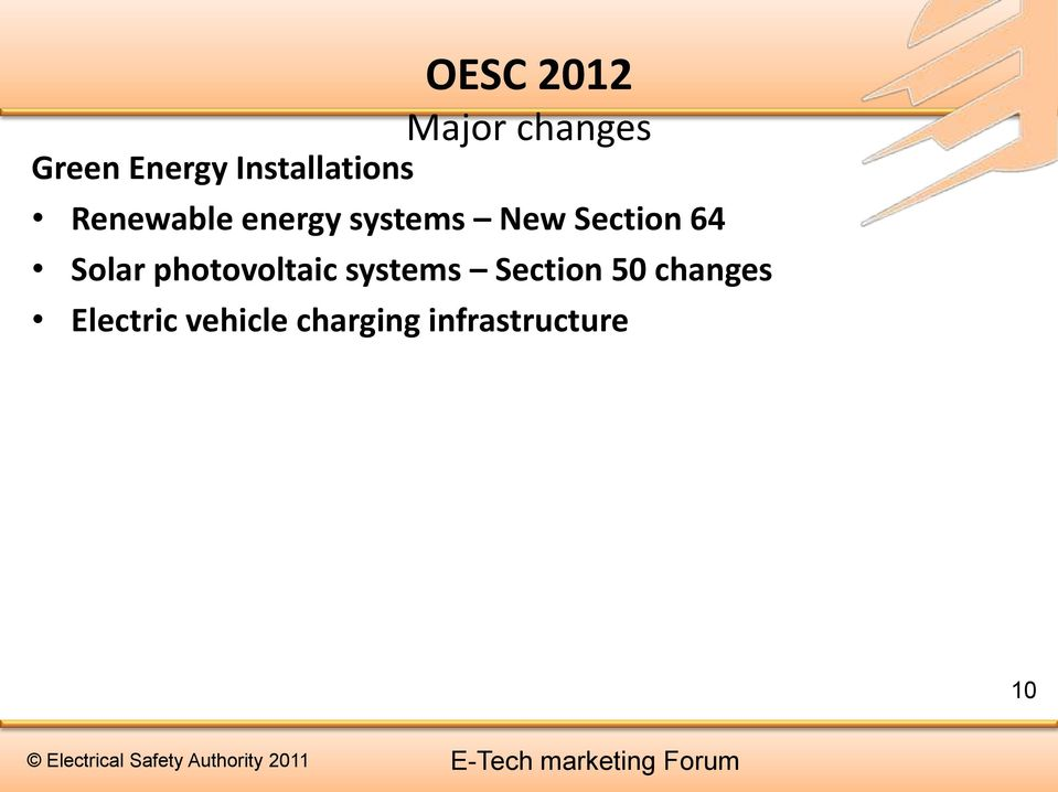64 Solar photovoltaic systems Section 50