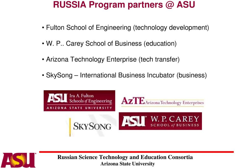 of Business (education) Arizona Technology Enterprise
