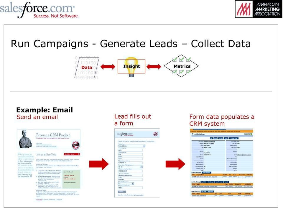 110101001 Insight Metrics Example: Email Send an
