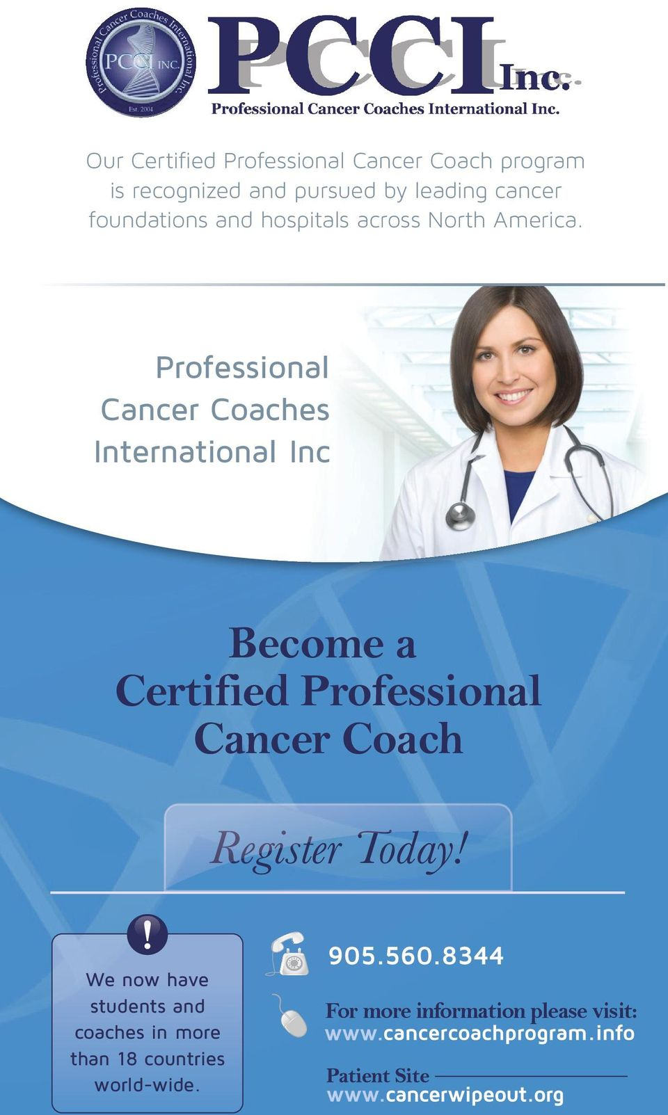 Professional Cancer Coaches International Inc Become a Certified Professional Cancer Coach