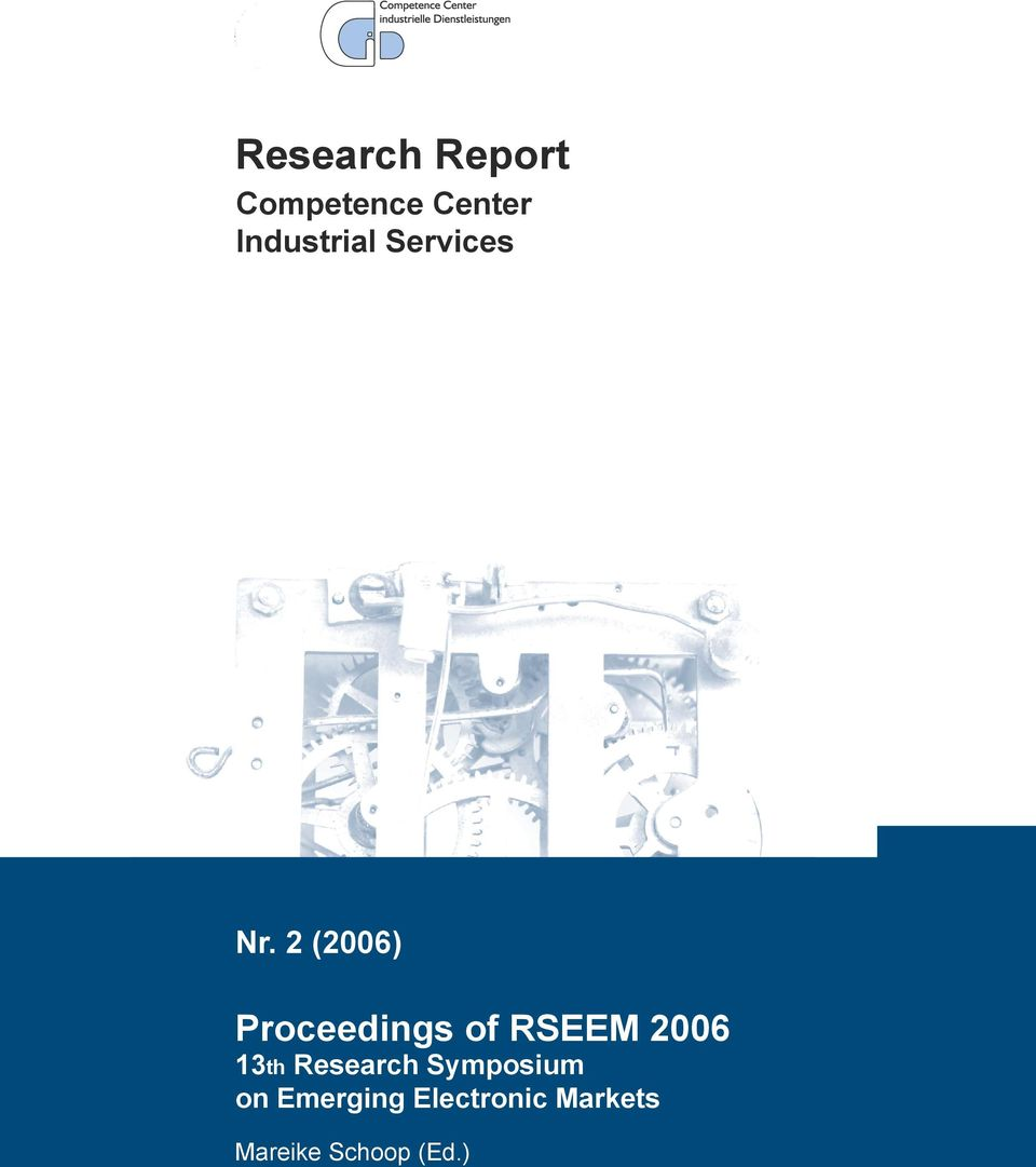 2 (2006) Proceedings of RSEEM 2006 13th
