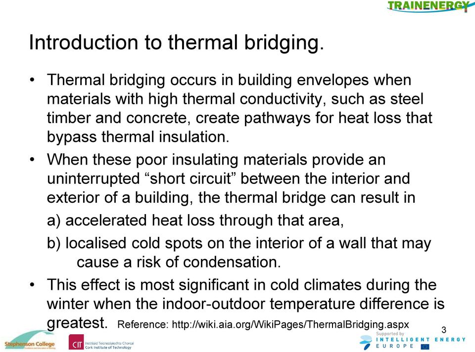 thermal insulation.