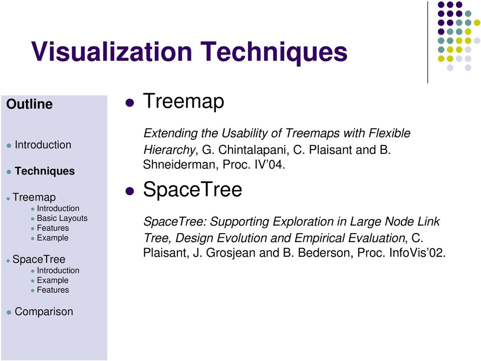 SpaceTree: Supporting Exploration in Large Node Link Tree, Design Evolution