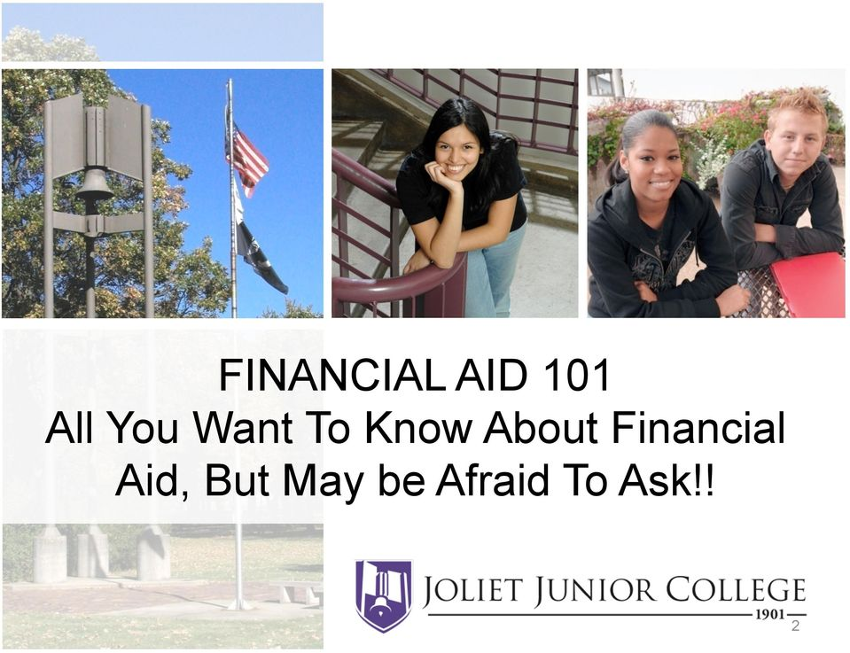 About Financial Aid,