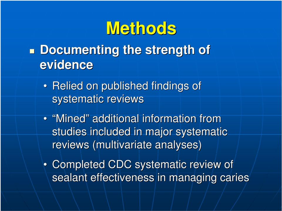 studies included in major systematic reviews (multivariate analyses)