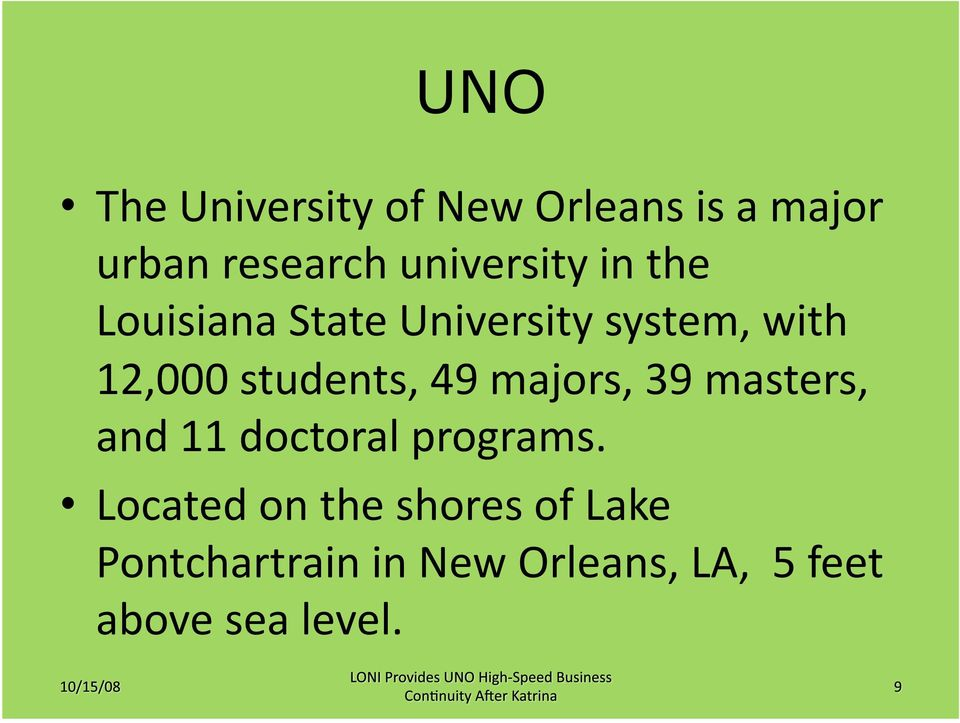 students, 49 majors, 39 masters, and 11 doctoral programs.