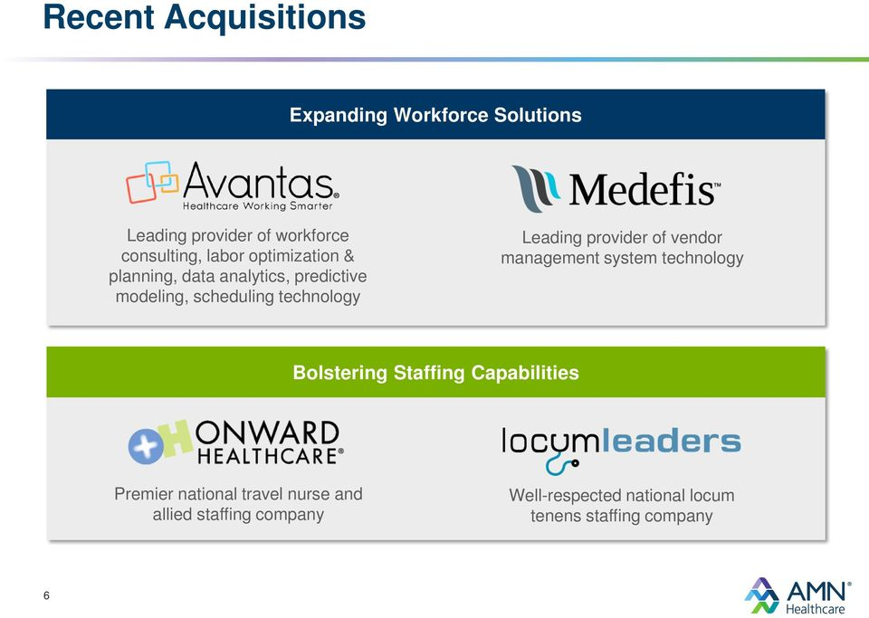 Leading provider of vendor management system technology Bolstering Staffing Capabilities